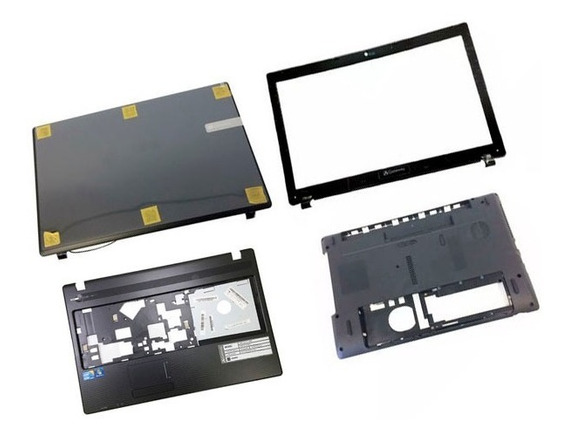 Carcaças Originais Notebook Gateway Nv55c Nv55c12b Nv55c02b