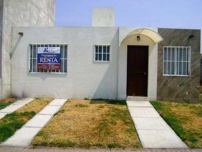Casa Sola En Renta Fracc. San Mateo