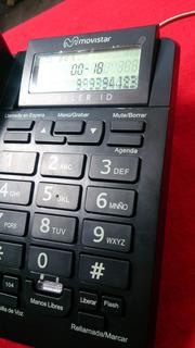Telefono Fijo Movistar Claro Ip Nuevo Identificador Altavoz