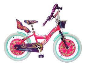 Bicicleta Benotto Flower Power Para Niñas