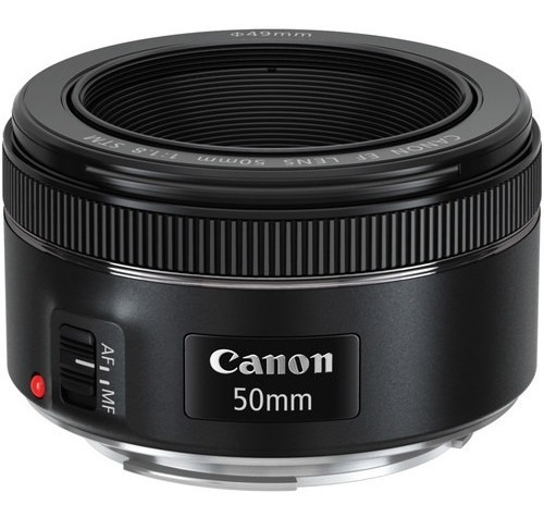 Lente Canon 50mm F/1.8 Stm Original Com Nf