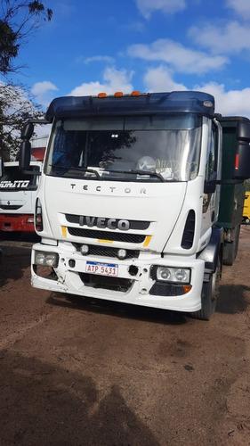 Camion C/volcadora Iveco Tector 170e25 - Ejes Neumaticos!!