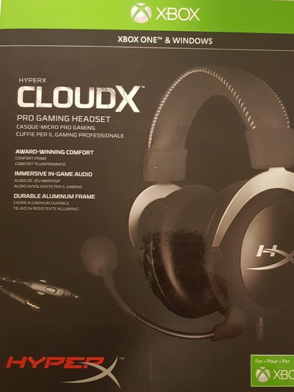 Headset Hyperx Cloud X