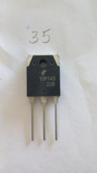 Transistor Tip140 Tip 140 Novo Grande Orig Kit C/ 2 Peças