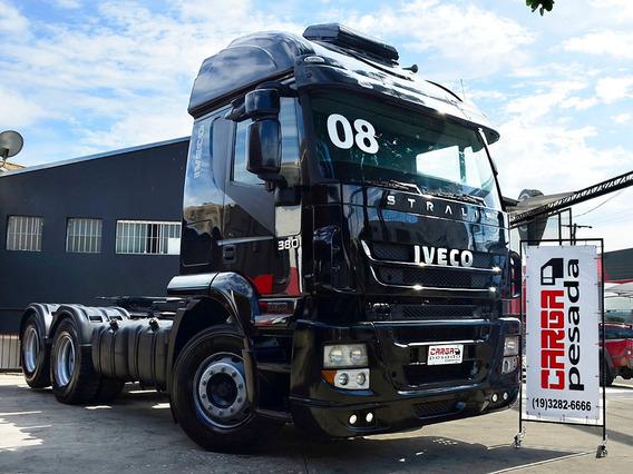 Stralis 380 2008 Teto Alto= Iveco Scania 380 420 Mb2540 2544