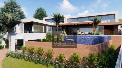 Imagem 1 de 15 de Maravilhosa Casa Com 1.100 M² De Área Construída, Amplo Terreno E 5 Suítes No Residencial 10 - Confira! - Ca2733