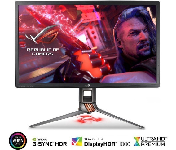 Monitor Asus Rog Swift Pg27uq -4k 144hz R$ 11.999,00 A Vista