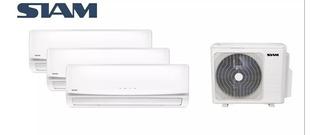 Aire Acondicionado Multisplit Siam 3500w+3500w Super Oferta!
