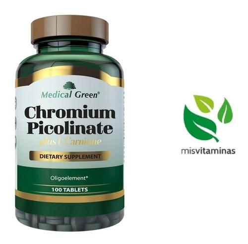 Chromium Picolinate 100 Tabletas 20 - Unidad a $300