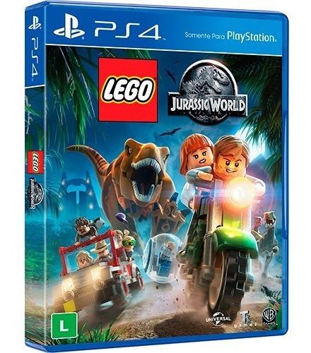 Lego Jurassic World Ps4 Mídia Física Lacrado Pt Br