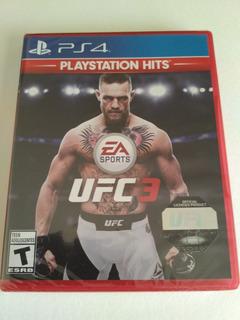 Ea Sports Ufc 3 Playstation Hits Ps4 Nuevo Sellado