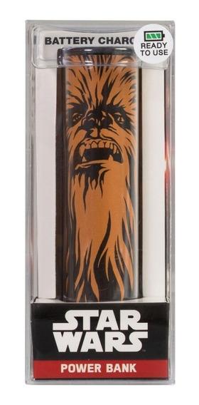 Bateria Externa Portatil Chewbacca 2600 Mah Star Wars Tribe