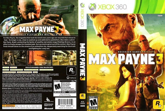 Midia Digital Max Payne 3 Xbox360