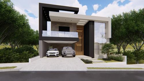Imagem 1 de 9 de Planta De Casa 3 Quartos - Projeto Arquitetônico Completo