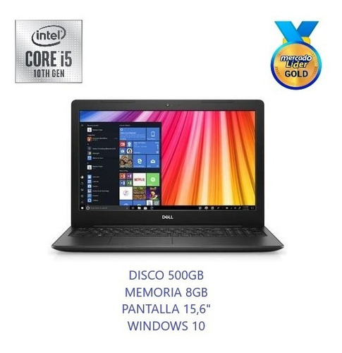 Laptop Dell Intel Core I5 10ma Disco 1000gb-ram 4gb 15.6