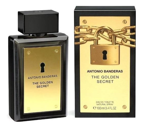 Decant Amostra Do Antonio Banderas The Golden Secret Men 5ml