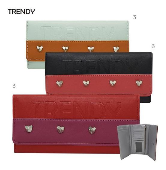 Billetera Fichero Trendy By Ibbags 20444 *p