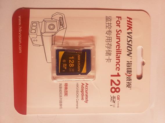 Memoria Sd 128 Gb Clase 10 Para Videovigilancia Hikvision