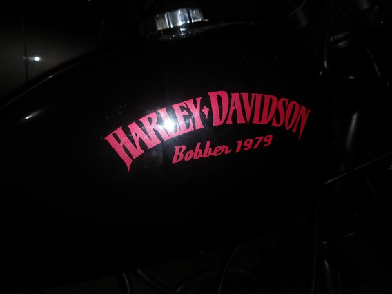 Harley Davidson Bobber Hard Tail 1979