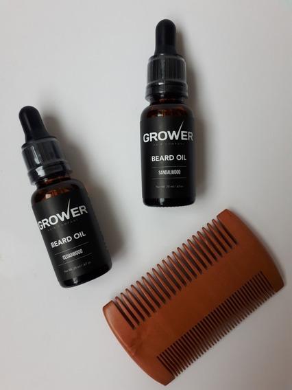 Aceite De Barba Premium Natural Y Orgánico Grower Beard Oil