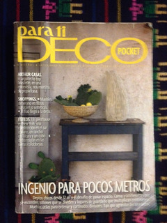Parati Deco Pocket. N° 14. Ingenio Pocos Metros Octubre 2012