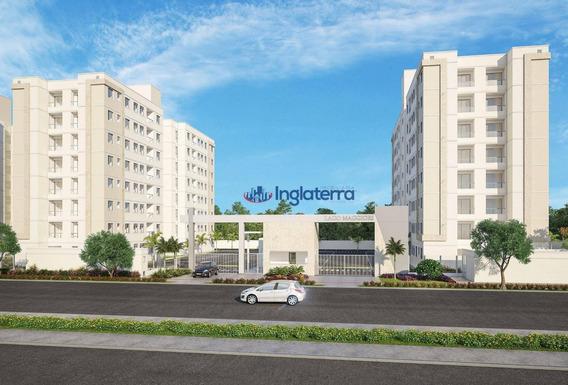 Apartamento À Venda, 46 M² Por R$ 166.000,00 - Jardim Morumbi - Londrina/pr - Ap0545