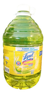 Lysol Desinfectante De Virus Y Bacterias 99.9 %- 5 Litros