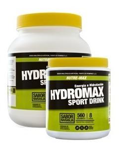 Hidromax 560g Nutre-max Sport Drink Energía E Hidratación