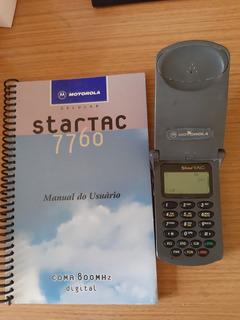 Motorola Startac Star Tac 7760 C Manual Funcionando