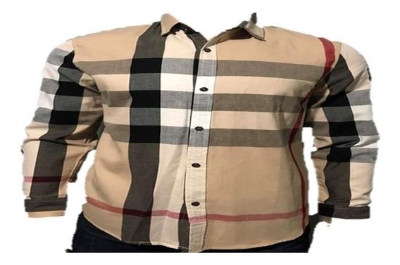 Camisa Cuadros No Versace Gucci Fendi 4 Modelos Envío Gratis