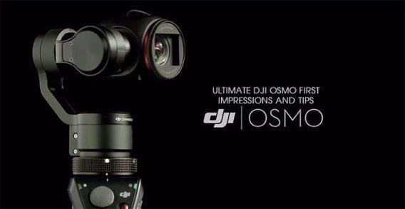 Câmera Osmo 4k / 12mp Com Estabilizador - Dji