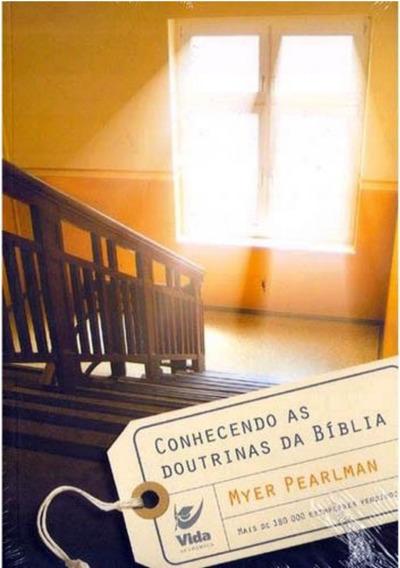 Livro Myer Pearlman - Conhecendo As Doutrinas Da Bíblia