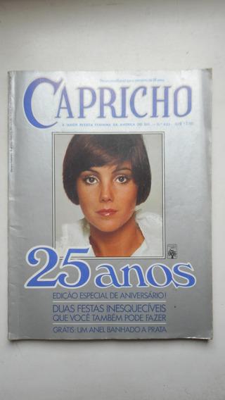 Revista Capricho Nº 433 - 1977 - Especial 25 Anos