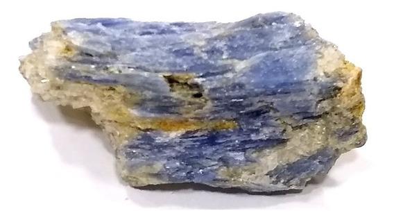 Cianita Azul Espada São Miguel 9cm Pedra Natural Bruta 194g