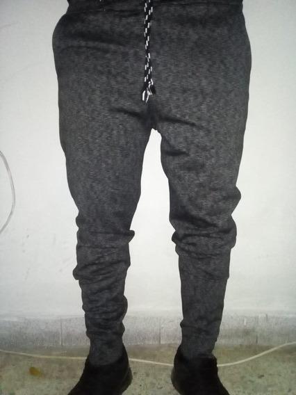 Pantalon Buzo Hombre/franela/fresh Terry/clasico-pitillo