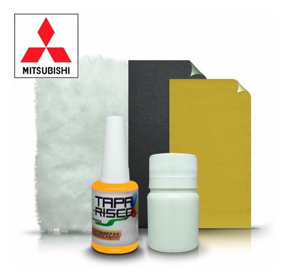 Tinta Tapa Risco + Kit Polimento Mitsubishi Amarelo Rally