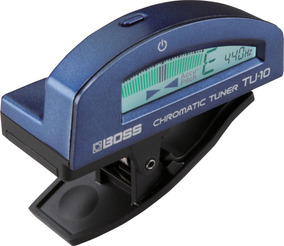 Afinador Cromatico Boss Tu10 Bu Azul Tu 10 Blue