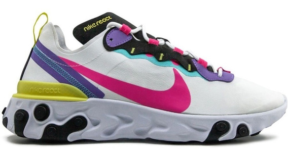 Zapatillas Nike React Element 55 Hombre Urbanas C/ Envio