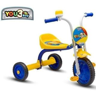 Triciclo Infantil De Aluminio You 3 Boy - Nathor