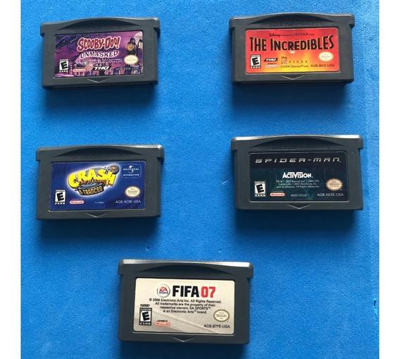 Crash Bandicoot 2 N-tranced + 4 Jogos Originais Gba !usado!