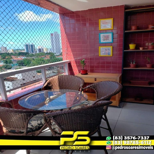 Apartamento Com 2 Dormitórios À Venda, 95 M² Por R$ 385.000 - Bairro Dos Estados - João Pessoa/pb - Ap2951