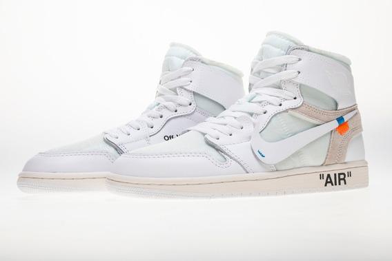 Tenis Nike Air Jordan X Off-white Unc White
