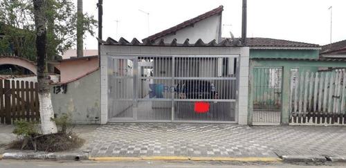 Casa Com 2 Dormitórios À Venda, 90 M² Por R$ 290.000,00 - Agenor De Campos - Mongaguá/sp - Ca0046
