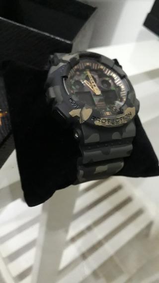Relógio G Shock Primeira Linha Camuflado Verde