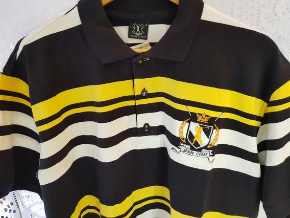 Camisa Polo Plus Size - Golf Class Última Peça Tam. 6