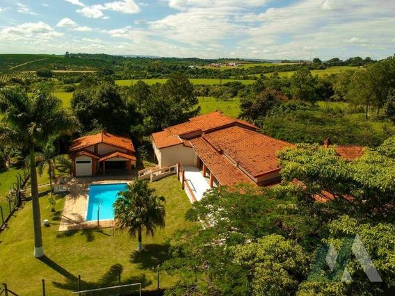 Chácara Com 5 Dormitórios À Venda, 10600 M² Por R$ 1.980.000 - Jardim Novo Mundo - Sorocaba/sp - Ch0039