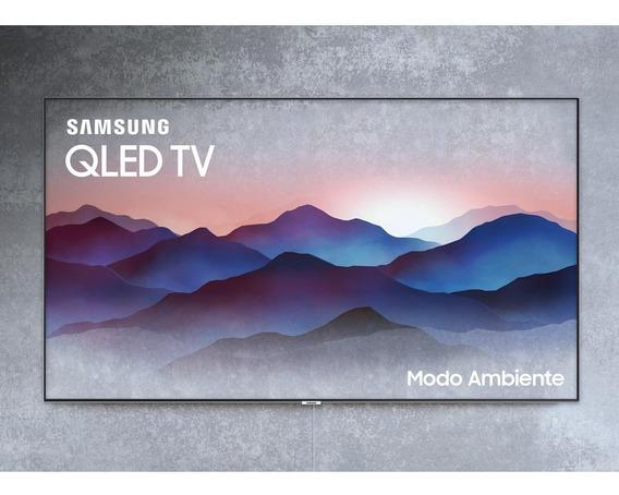 Smart Tv Qled 4k Uhd 55 Samsung 2018 Q7fn Modo Ambiente