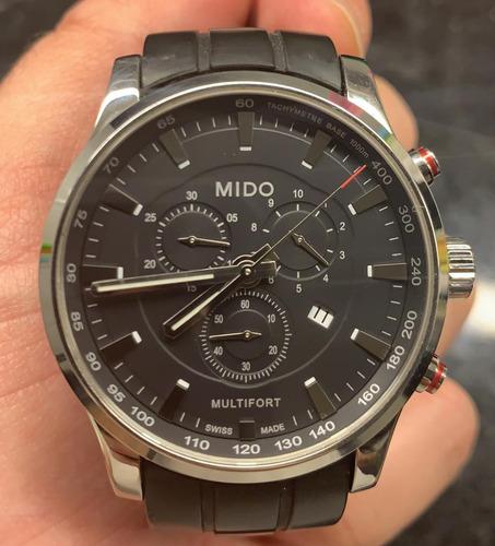 Imagen 1 de 10 de Reloj Mido Multifort Suizo