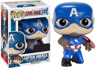 Funko Pop Capitán America #137 Marvel Avengers