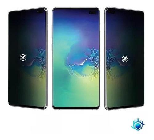 Imagen 1 de 7 de Mica iPhone Hidrogel Privacidad Mate Protector Anti Espia 3d